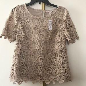 NEW: Laced Blouse